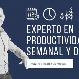 productividad semanal y diaria